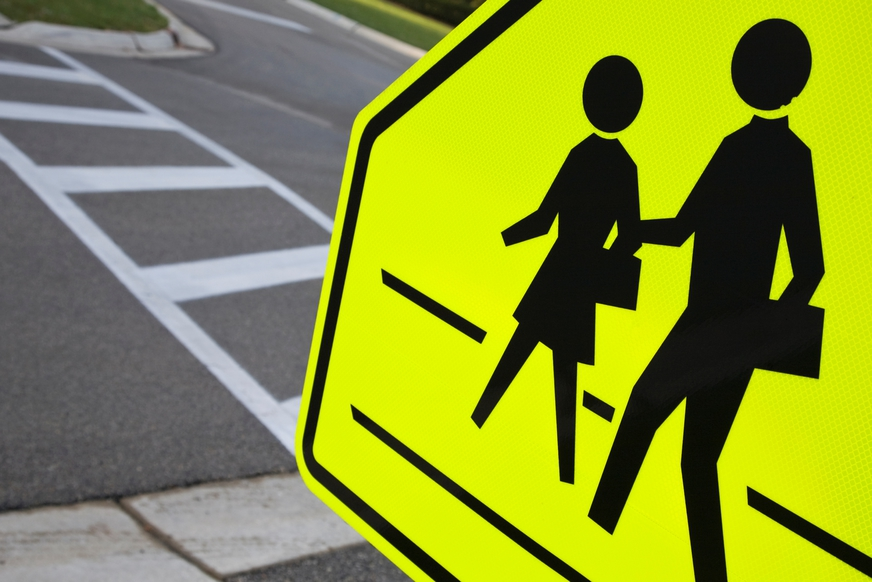 """What does the """"when children are present"""" road sign mean exactly?"""