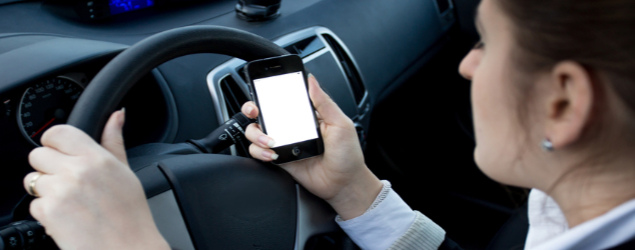 Distracted driving blitz serving tickets to BC drivers