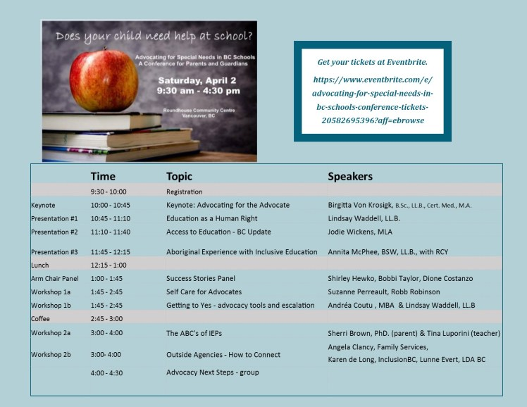 Speakers and Topics Final March 16