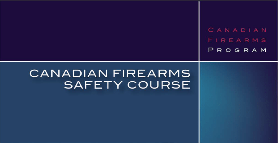canadian restricted firearms safety course manual 2014