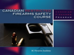 Free Restricted Canadian Firearms Safety Course Quiz Restricted