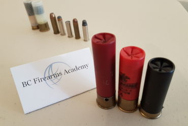 The Canadian Firearms Safety Course 3 common shotgun shell lengths?