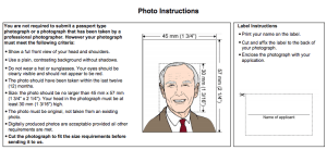 Photo Instructions PAL Application