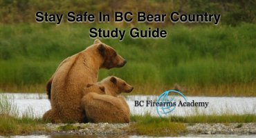 Stay Safe In BC Bear Country Free Study Guide.