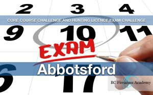 CORE Course Challenge and Hunting Licence Exam Challenge Abby
