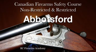 CFSC/CRFSC – Canadian Firearms Safety Course & Canadian Restricted Firearms Safety Course Dec 20/21