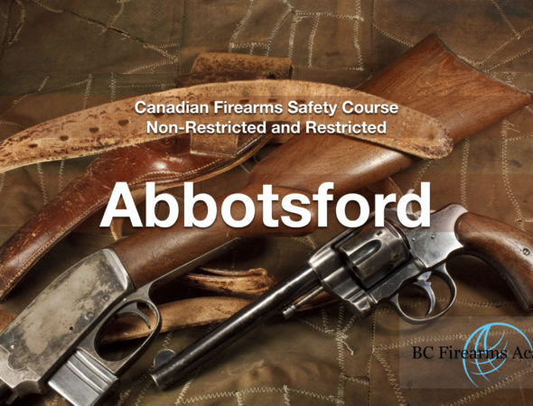 CFSC/CRFSC – Canadian Firearms Safety Course & Canadian Restricted Firearms Safety Course Abby Nov 22/23