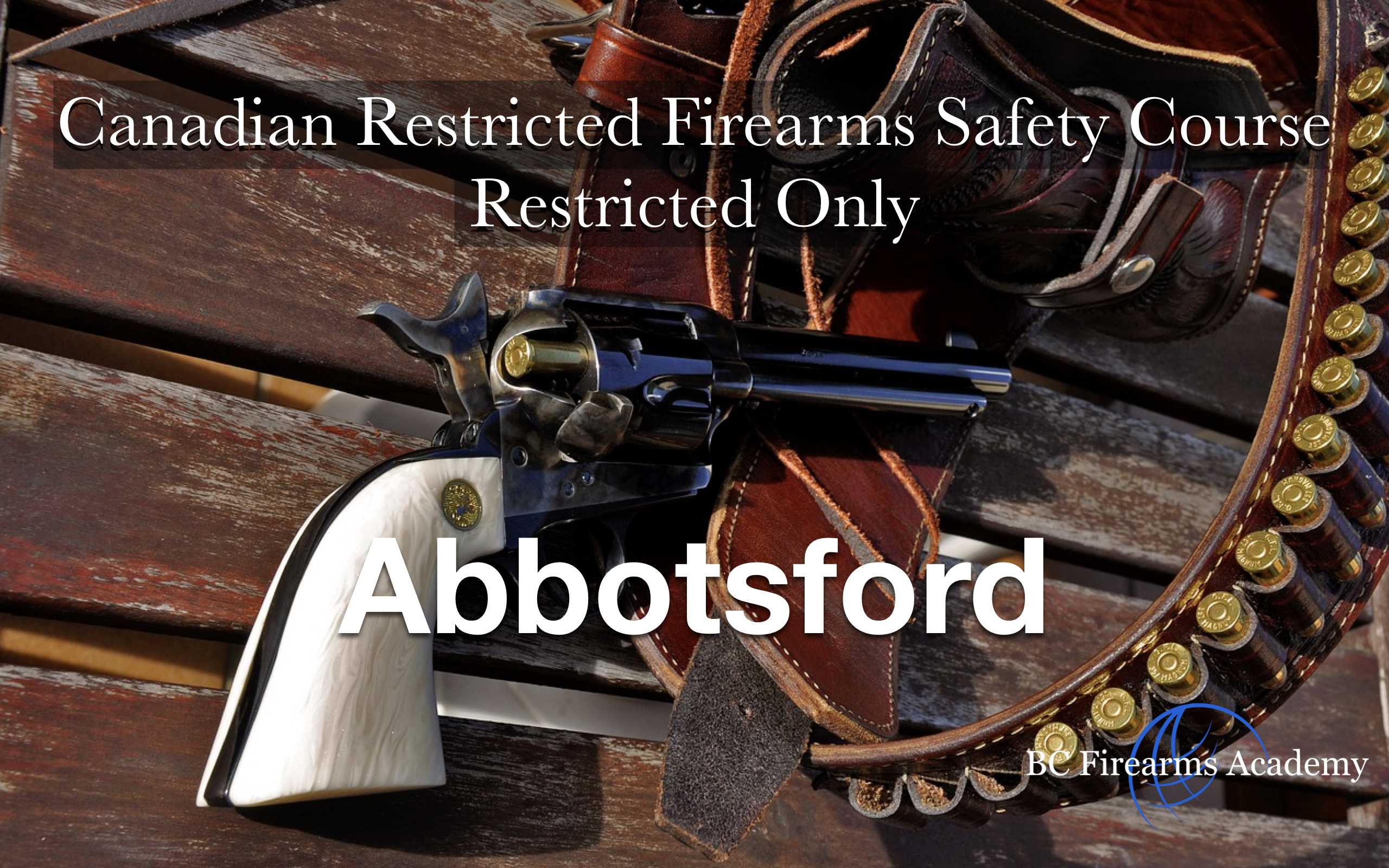 RESTRICTED-ONLY CRFSC (RPAL) Abbotsford Fri Nov 1