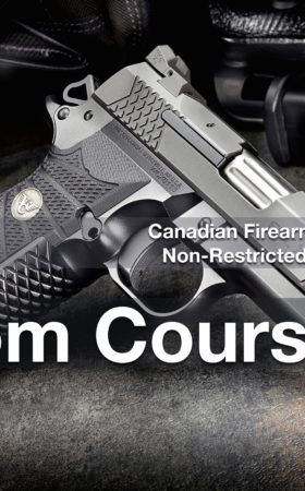 CFSC/CRFSC – Canadian Firearms Safety Course & Restricted Safety Course Van Mar 27/28 Custom