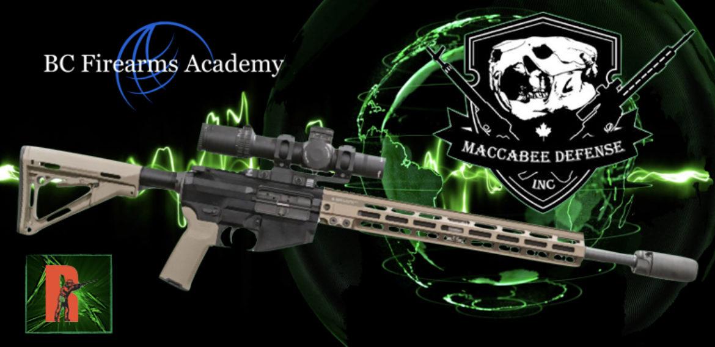 Non-Restricted AR-15 in Canada Maccabee Defense SLR