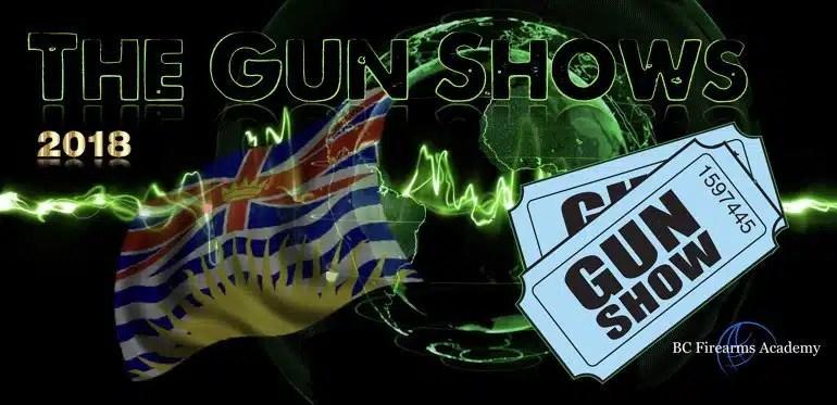 BC Gun Shows 2018
