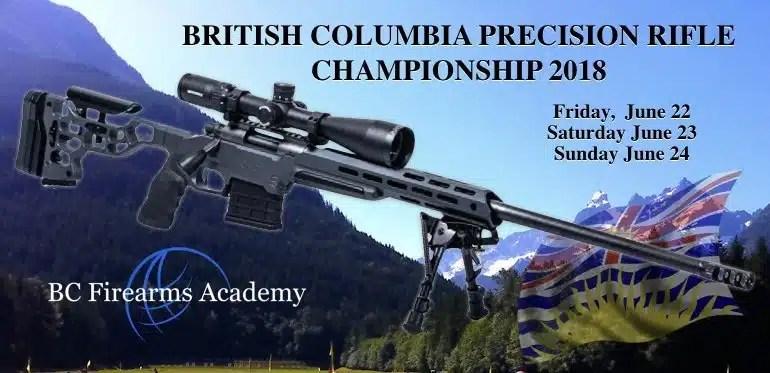 British Columbia Precision Rifle Championship 2018