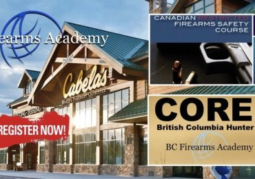CFSC / CRFSC & CORE Hunter Education at The Cabela's Abbotsford