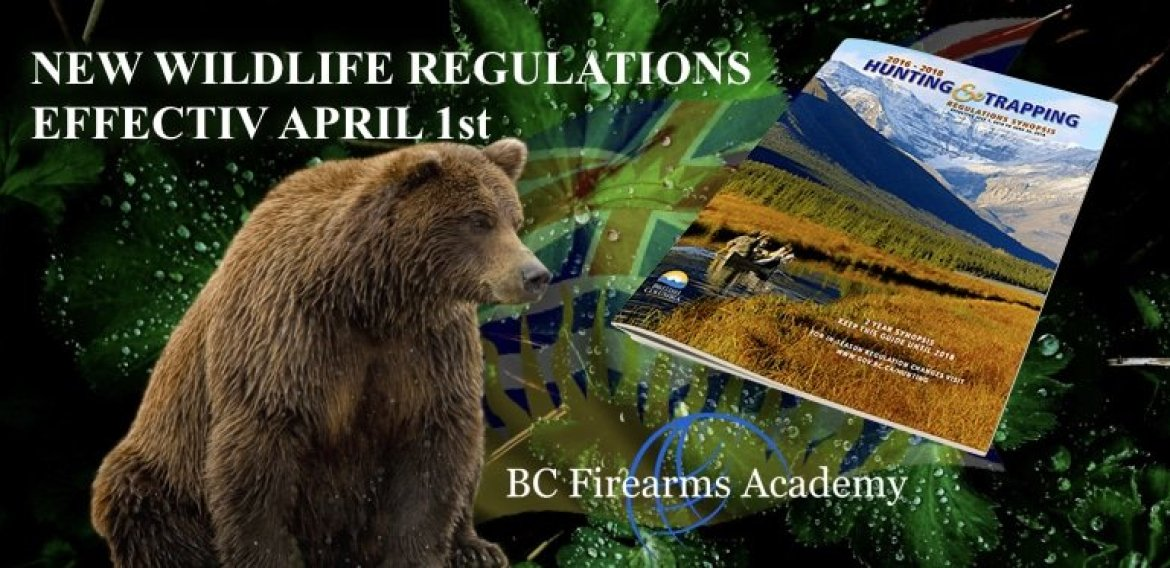 New wildlife regulations coming into effect April 1