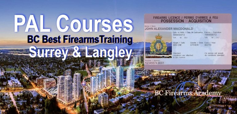PAL Courses Serving Surrey, Langley, Abbotsford & Fraser Valley