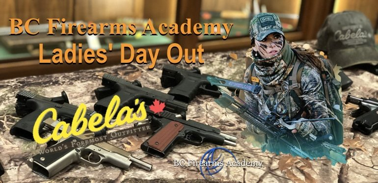 Introduction to Handguns BC Firearms Academy at Cabela's Ladies' Day Out