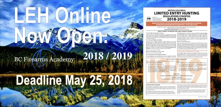 LEH Online Applications Are Now Open April 2018