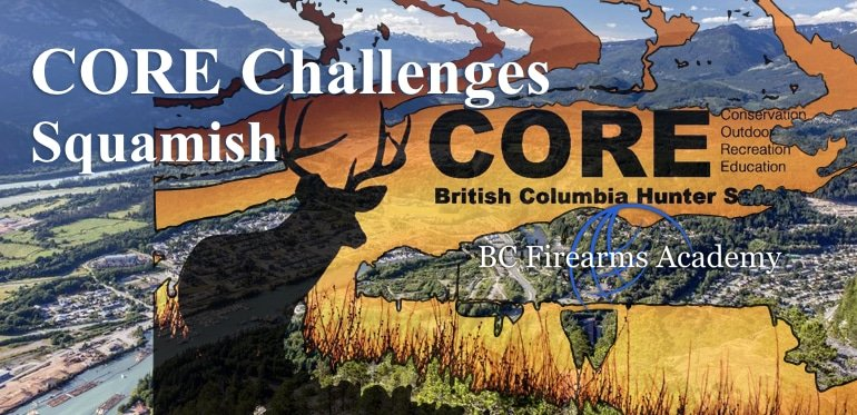 CORE Challenges in Squamish