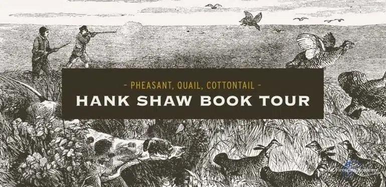 Hank Shaw Book Tour – Vancouver June 29 2018
