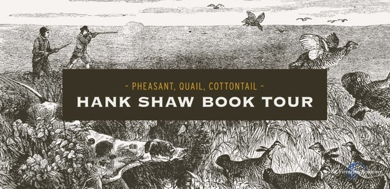Hank Shaw Book Tour – Vancouver June 29 2018