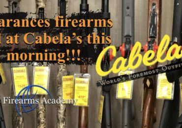 Clearances firearms add at Cabela's July 20 2018