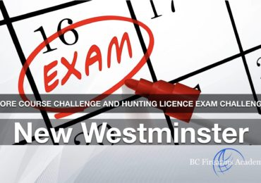CORE CHALLENGE Hunting License Exam Challenge New Westminster Sunday Dec 8