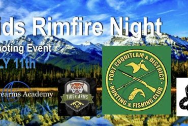 Kids Rimfire Night July 11th 2018