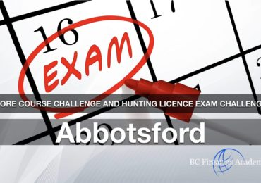 CORE Course Challenge and Hunting Licence Exam Challenge Abbotsford March 1 Friday