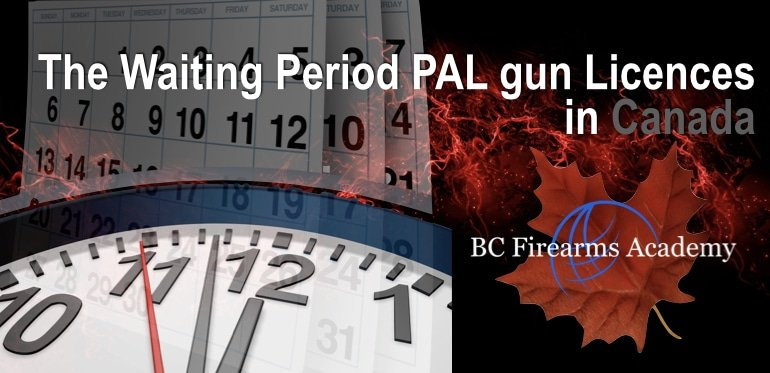 Is There a Waiting Period for a Gun or Gun License in Canada?