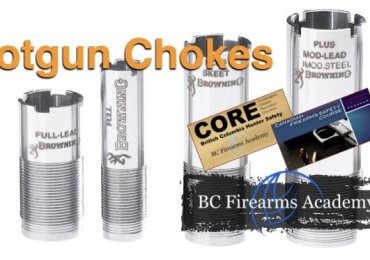 The Most Common Shotgun Chokes Taught in the PAL Course CFSC