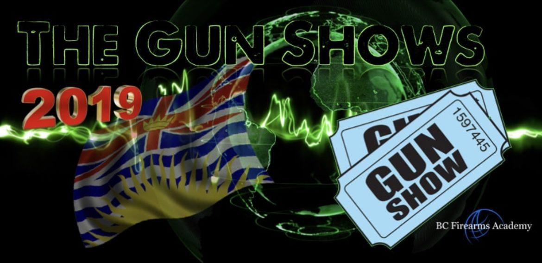 BC Gun Shows 2019