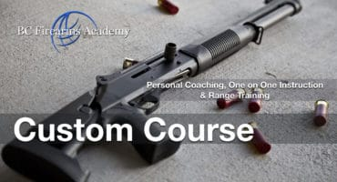 Custom Personal Coaching, One on One Instruction and Range Training Nov 28