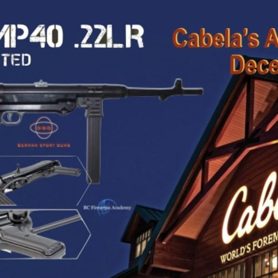 GSG-MP40 .22LR Coming to Cabela's Canada December 2018