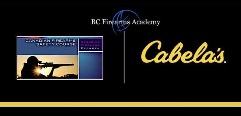PAL Courses and Firearms Training at Cabela's Abbotsford with BC Firearms Academy
