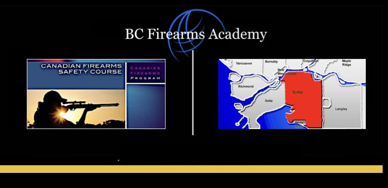 PAL Courses and Firearms Training serving Surrey at the JIBC