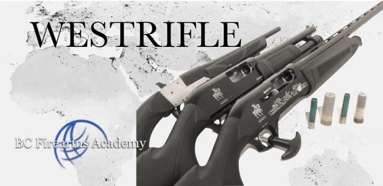 WESTRIFLE Shotguns at BC Firearms Academy