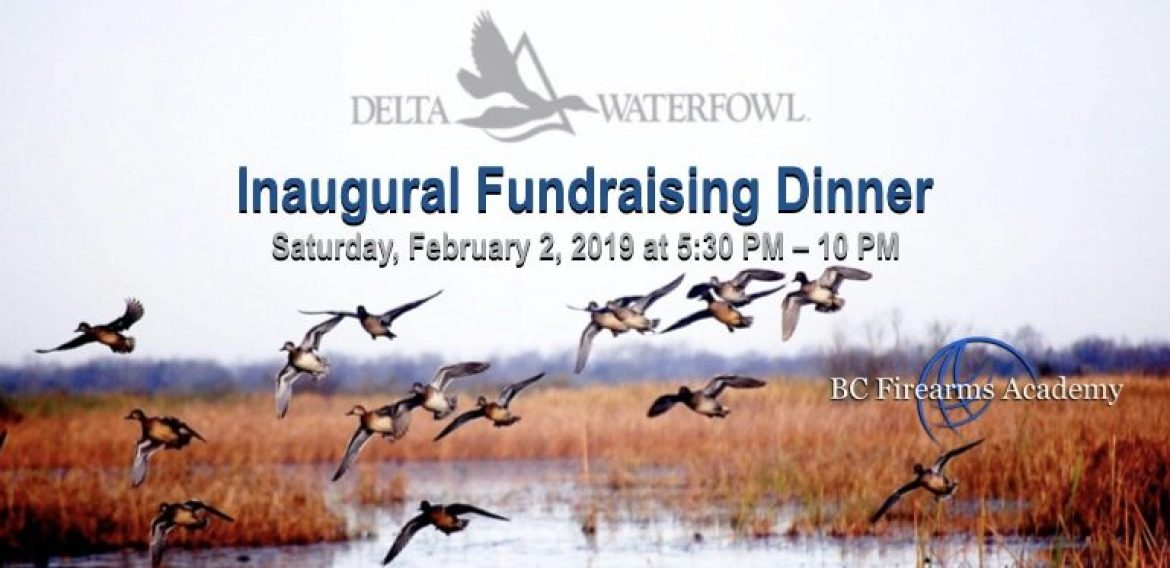 West Coast Waterfowlers Chapter Vancouver Fundraising Dinner February 2 2019