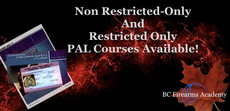 Non-restricted Only and Restricted Only Courses at BCFA!