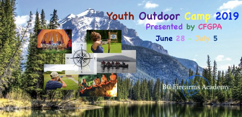 Youth Outdoor Skills Camp presented by CFGPA