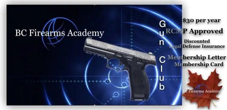 BC Firearms Academy Gun Club!