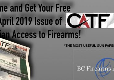 Come and Get Your April 2019 Issue of CATF from BC Firearms Academy