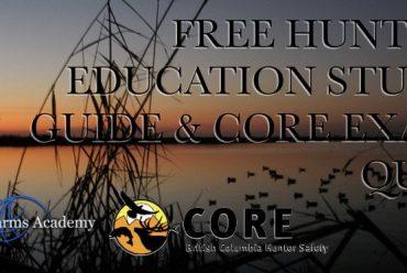 Free Hunter Education Study Guide & CORE Exam Quiz