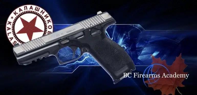 New Pistol from Famed Kalashnikov Set to Begin Production in 2019