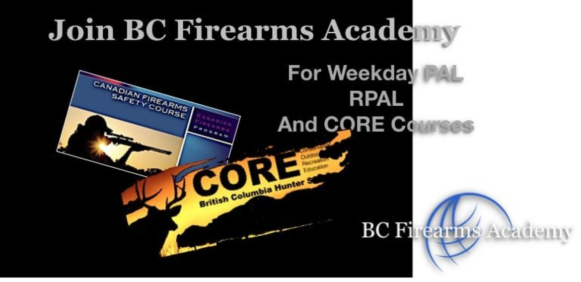 Weekday Courses with BC Firearms Academy!