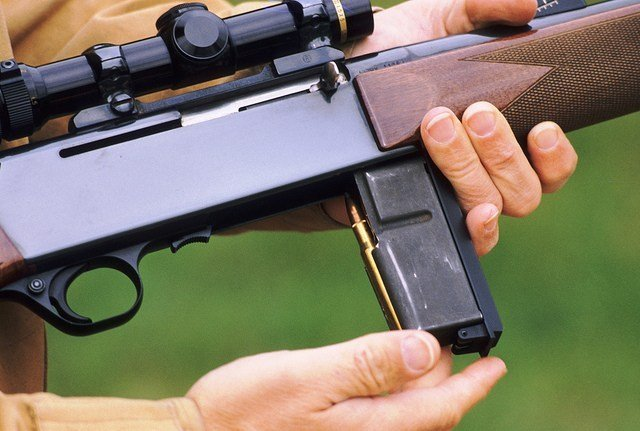 unload a rifle for hunting CORE