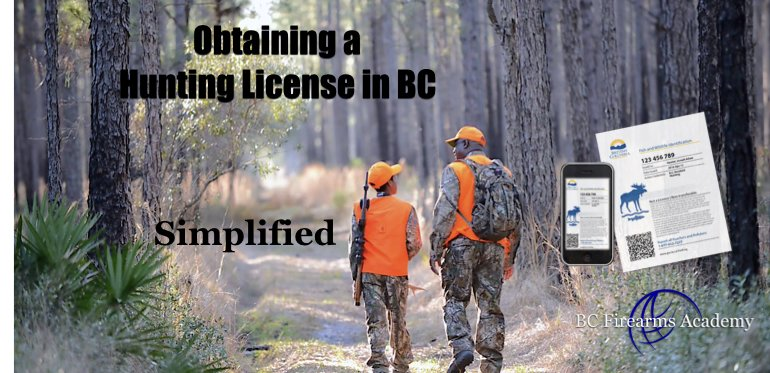 Getting Your Hunting License in BC