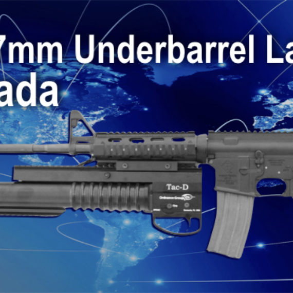 Tac-D 37mm Underbarrel Launcher in Canada