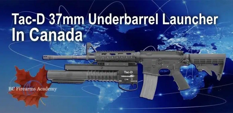 Tac-D 37mm Underbarrel Launcher in Canada