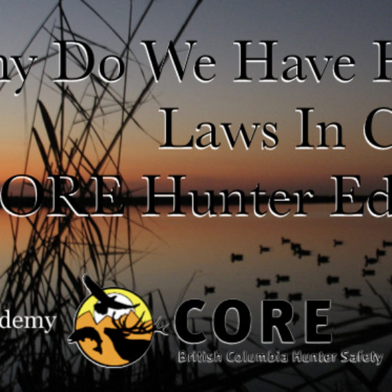 Why Do We Have Hunting Laws In Canada? Hunter Education