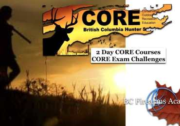 CORE Course & Exam Challenge with BC Firearms Academy